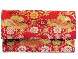 【金襴の和小物】【花楽堂オリジナル手作り札入れ】 札入れ財布 金襴 109
