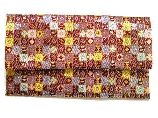 【金襴の和小物】【花楽堂オリジナル手作り札入れ】 金襴 札入れ財布とコースターのセット 17