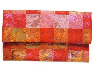 【金襴の和小物】【花楽堂オリジナル手作り札入れ】 金襴 札入れ財布とコースターのセット 14