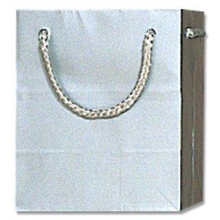 ギフト紙袋 ブライトバッグ シルバー 小