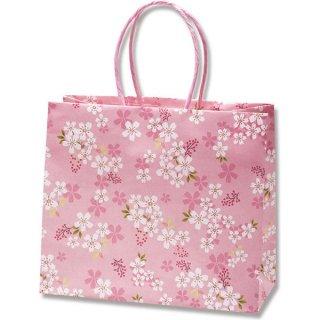 さくら柄 手提げ袋 桜花爛漫 桜 大(21×24×11) *紙袋のみでの販売不可です*