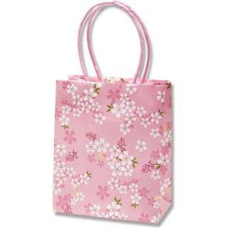 さくら柄 手提げ袋 桜花爛漫 桜 小(19.5×16×9) *紙袋のみでの販売不可です*