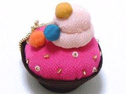 【京都くろちく】ちりめんカワイイコレクション ケーキお菓子