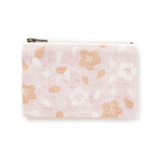 【遊中川】 カード入れ 朧さくら 桃 ピンク