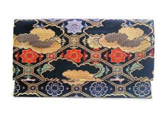【金襴の和小物】【花楽堂オリジナル手作り札入れ】 札入れ財布 金襴 296