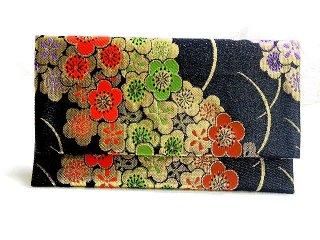 【金襴の和小物】【花楽堂オリジナル手作り札入れ】 札入れ財布 金襴 305