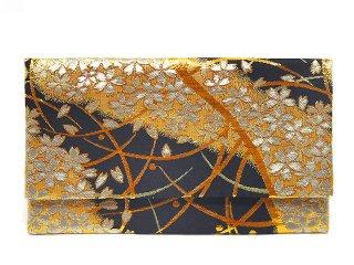 【金襴の和小物】【花楽堂オリジナル手作り札入れ】 札入れ財布 金襴 314