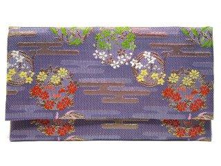 【金襴の和小物】【花楽堂オリジナル手作り札入れ】 札入れ財布 金襴 318