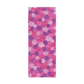 【京都くろちく】 日本手ぬぐい 彩薔薇 ピンク