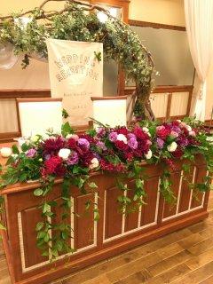 [WD0001]ウエディング(メインテーブル)花束2個付き