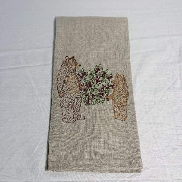 <img class='new_mark_img1' src='https://img.shop-pro.jp/img/new/icons47.gif' style='border:none;display:inline;margin:0px;padding:0px;width:auto;' />CORAL&TUSK  TEA TOWEL Briar Bears