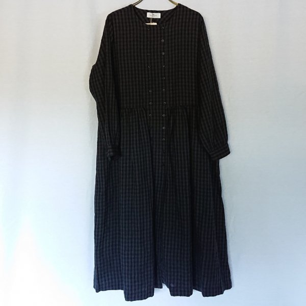 SOIL  DOUBLE BUTTON DRESS