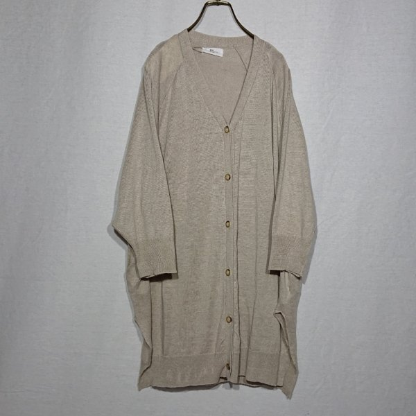 <img class='new_mark_img1' src='https://img.shop-pro.jp/img/new/icons47.gif' style='border:none;display:inline;margin:0px;padding:0px;width:auto;' />SOIL  DOLMAN SLEEVE V-NECK LONG CARDIGAN