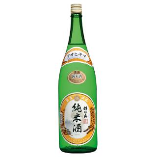 [お取り寄せ]朝日山 純米酒<br>【1800ml】