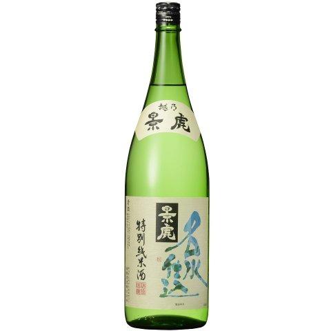 越乃景虎 名水仕込 特別純米酒<br>【1800ml】