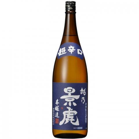 越乃景虎 超辛口本醸造<br>【1800ml】