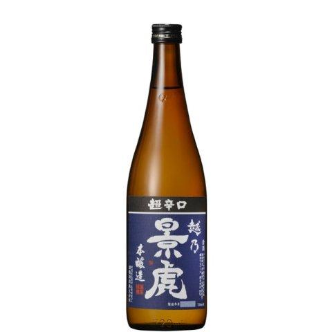 越乃景虎 超辛口本醸造<br>【720ml】