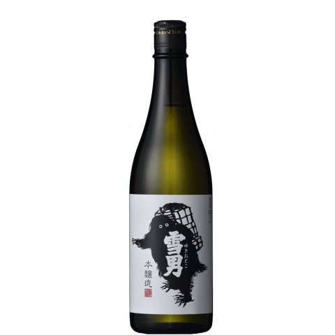 雪男 本醸造<br>【720ml】