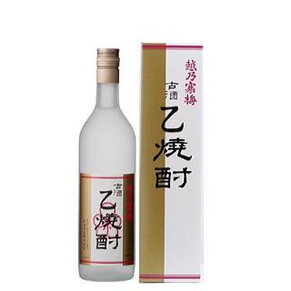 越乃寒梅 古酒 乙焼酎≪化粧箱入≫<br>【720ml】