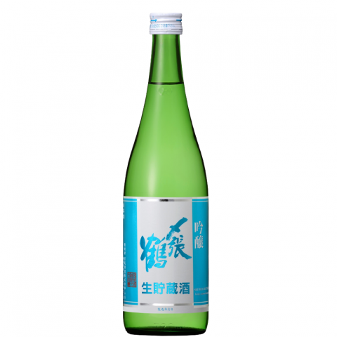 〆張鶴 吟醸 生貯蔵酒<br>【720ml】