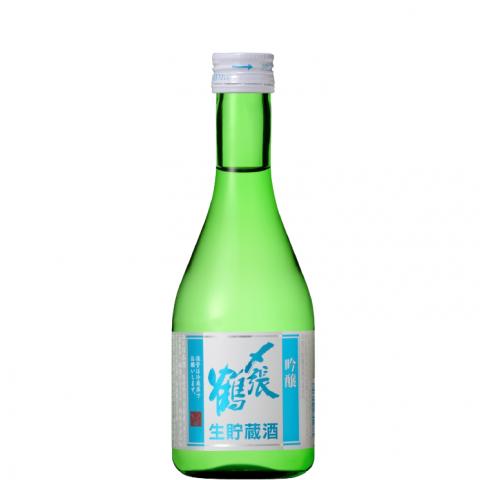 〆張鶴 吟醸 生貯蔵酒<br>【300ml】