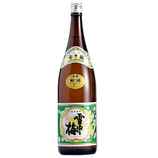 雪中梅 普通酒<br>【1800ml】