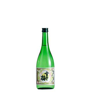 雪中梅 本醸造<br>【720ml】