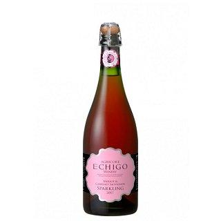 越後メルロー&カベルネソーヴィニヨン スパークリングワイン<br>【750ml】