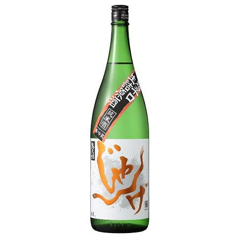想天坊 じゃんげ 超辛口 純米生詰原酒 橙蛇<br>【1800ml】