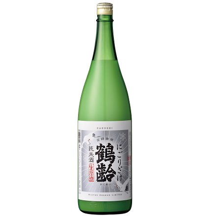 鶴齢 純米酒 にごり酒<br>【1800ml】
