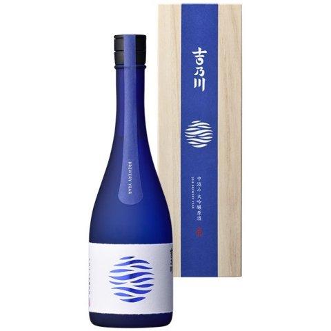 [お取り寄せ]吉乃川 みなも中汲み大吟醸原酒≪化粧箱入≫<br>【720ml】