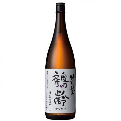 鶴齢 特別純米酒 五百万石55%精米 寒熟(かんじゅく)<br>【1800ml】