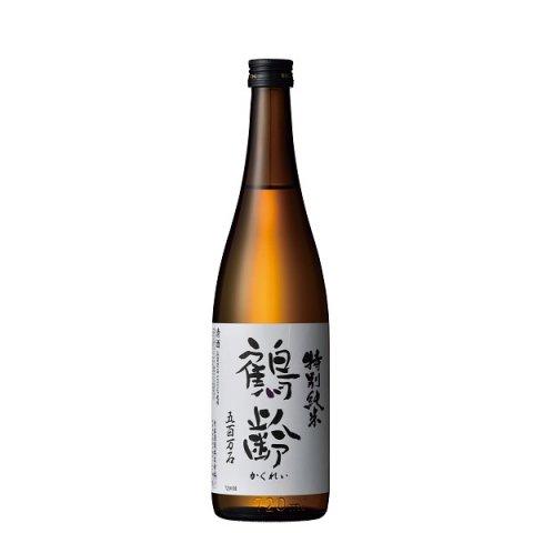 鶴齢 特別純米酒 五百万石55%精米 寒熟(かんじゅく)<br>【720ml】