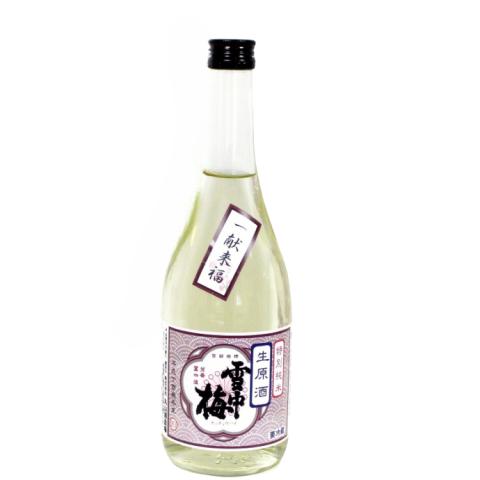 雪中梅 特別純米 しぼりたて無濾過生原酒<br>【720ml】