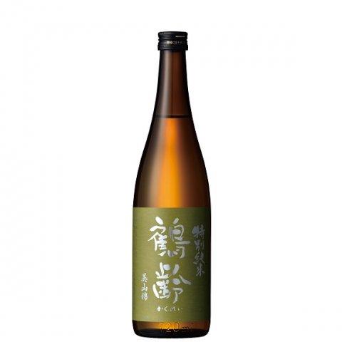 鶴齢 特別純米 美山錦55%精米 無濾過生原酒<br>【720ml】