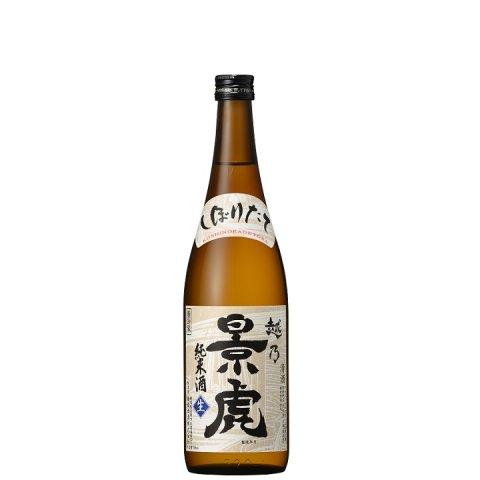 越乃景虎 純米しぼりたて生原酒<br>【720ml】