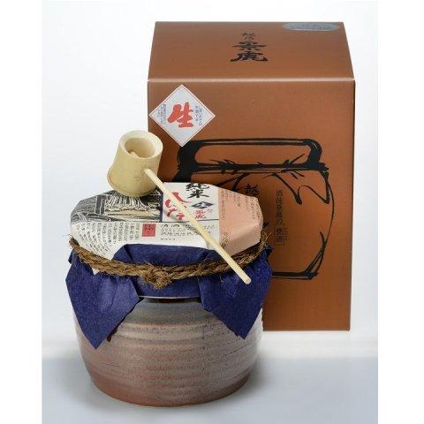 [お取り寄せ]【カメ詰】越乃景虎 純米しぼりたて生原酒<br>【1800ml】