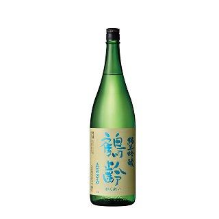 鶴齢 純米吟醸 五百万石50% 無濾過生原酒<br>【1800ml】