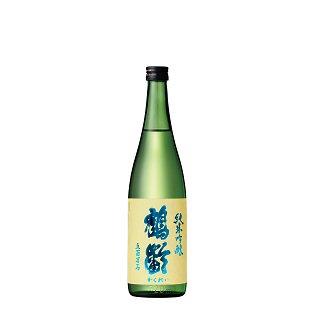 鶴齢 純米吟醸 五百万石50% 無濾過生原酒<br>【720ml】