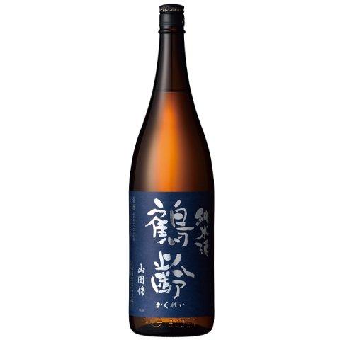 鶴齢 純米酒 山田錦65%精米 生原酒<br>【1800ml】
