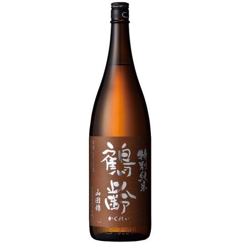 鶴齢 特別純米酒 山田錦55%精米 生原酒<br>【1800ml】