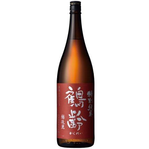 鶴齢 特別純米酒 越淡麗55%精米 生原酒<br>【1800ml】