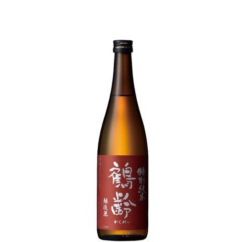 鶴齢 特別純米酒 越淡麗55%精米 生原酒<br>【720ml】