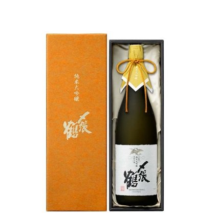 [受注生産 ご予約受付中]〆張鶴 純米大吟醸 PLATINUM LABEL 袋取り雫酒≪化粧箱入り≫<br>【720ml】