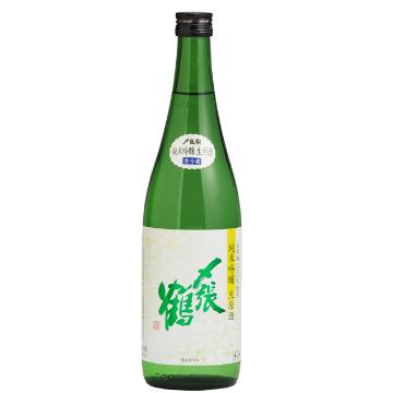 〆張鶴 純米吟醸 山田錦 生原酒<br>【1800ml】