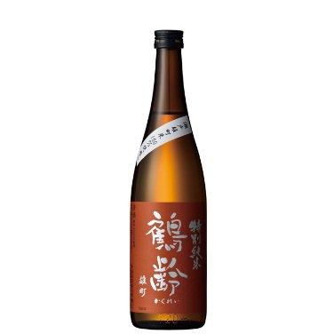 鶴齢 特別純米 瀬戸産雄町 生原酒<br>【720ml】