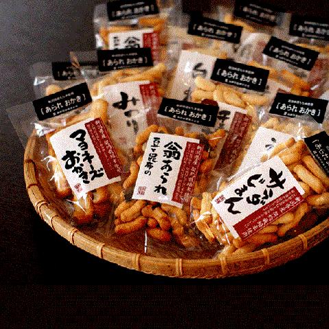 加藤製菓 新潟米あられおかき<br>【単品】