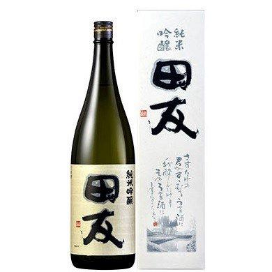 田友(でんゆう)純米吟醸《化粧箱入り》<br>【1800ml】