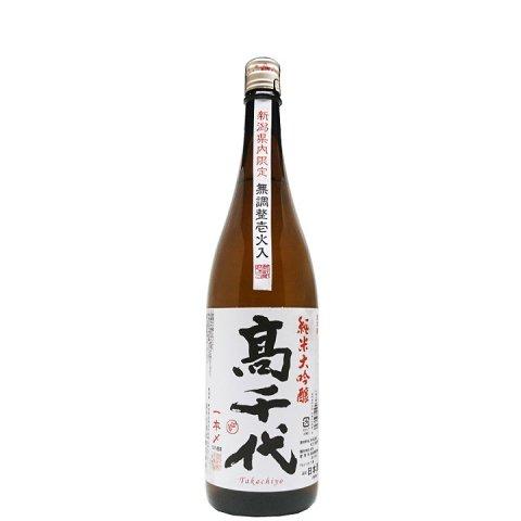 高千代 純米大吟醸 一本〆 火入原酒(限定流通酒)<br>【720ml】
