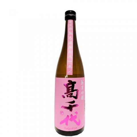 高千代 純米吟醸 桜sakura 無濾過無加水 一本〆(限定流通酒)<br>【720ml】